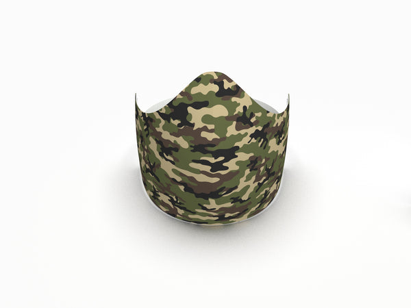 CAMO FASHION GRAPHIC KIDS MASK - BYOM.CA | BRING YOUR OWN MASK