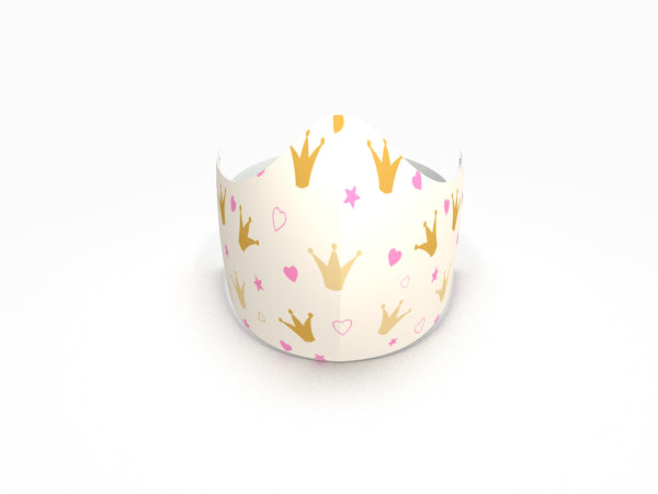 CROWNS FASHION GRAPHIC KIDS MASK - BYOM.CA | BRING YOUR OWN MASK