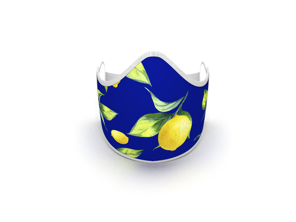 LEMONS AND PROVENCE FASHION GRAPHIC MASK