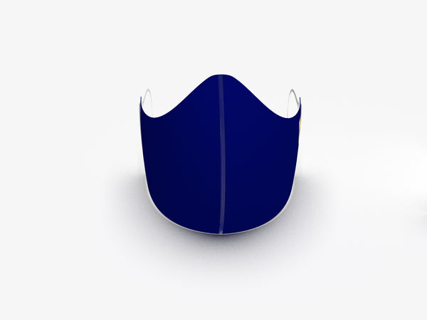 ULTRA LIGHTWEIGHT NAVY BLUE MASK - BRAND NEW OUTER LAYER MATERIAL - BYOM.CA | BRING YOUR OWN MASK