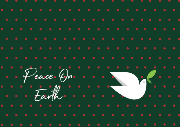 PEACE ON EARTH FASHION GRAPHIC MASK - BYOM.CA | BRING YOUR OWN MASK