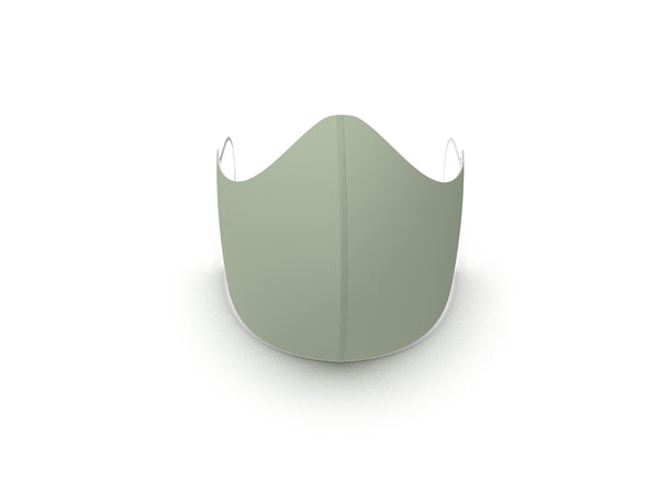 SAGE GREEN FASHION GRAPHIC FABRIC MASK - 3 LAYER - BYOM.CA | BRING YOUR OWN MASK