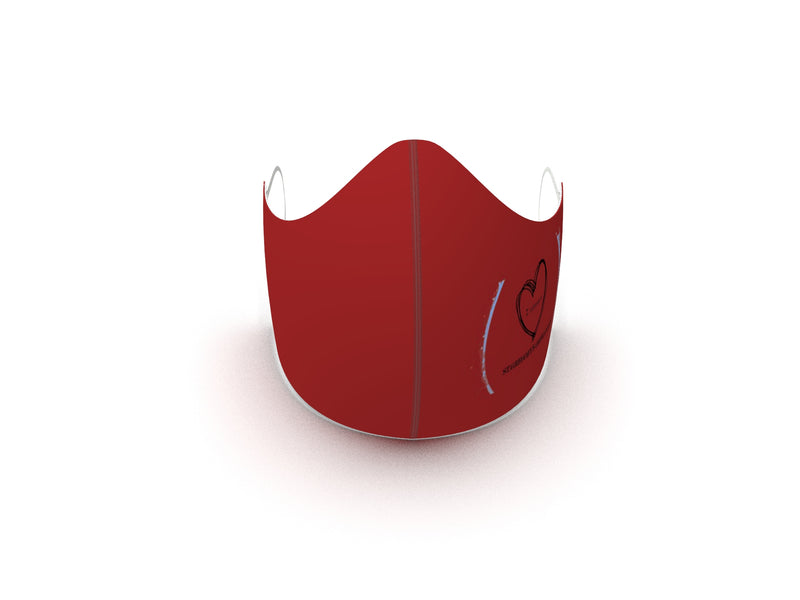 ST GREGORY'S BURGANDY FASHION GRAPHIC MASK - BYOM.CA | BRING YOUR OWN MASK