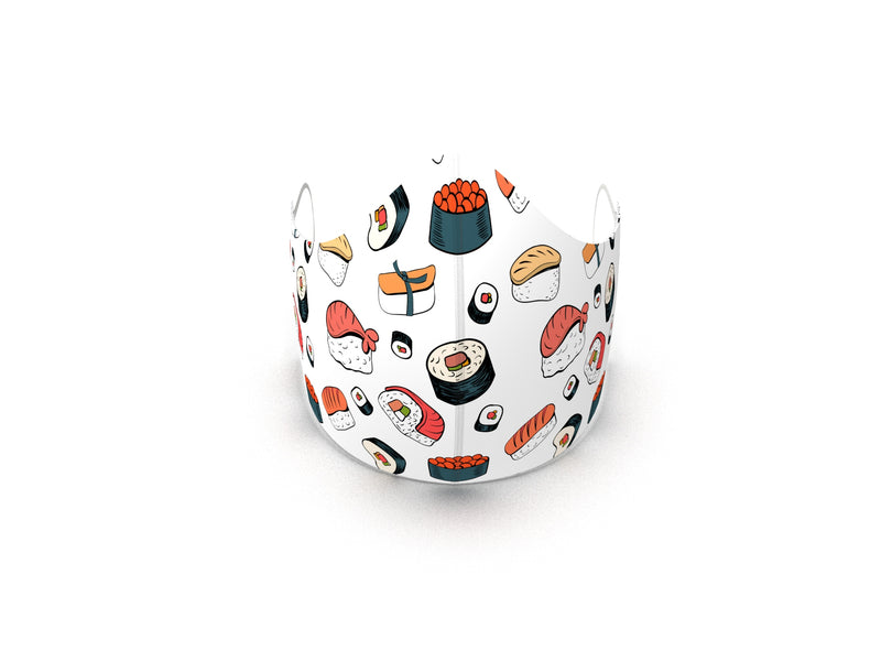 SUSHI LOVER FASHION GRAPHIC MASK - BYOM.CA | BRING YOUR OWN MASK