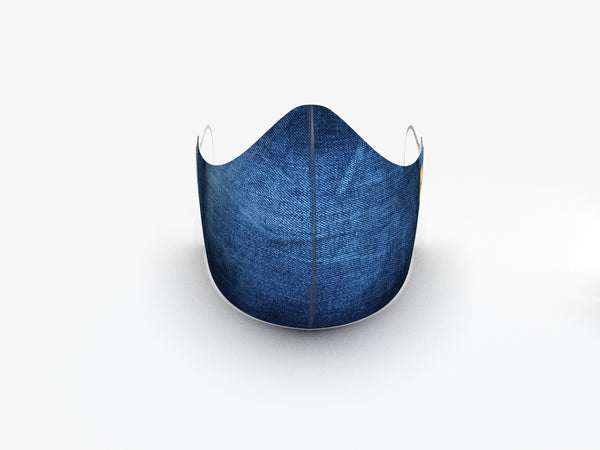 BLUEJEAN FASHION GRAPHIC MASK - BYOM.CA | BRING YOUR OWN MASK
