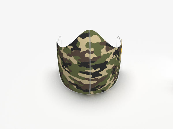 CAMO FASHION GRAPHIC MASK - BYOM.CA | BRING YOUR OWN MASK