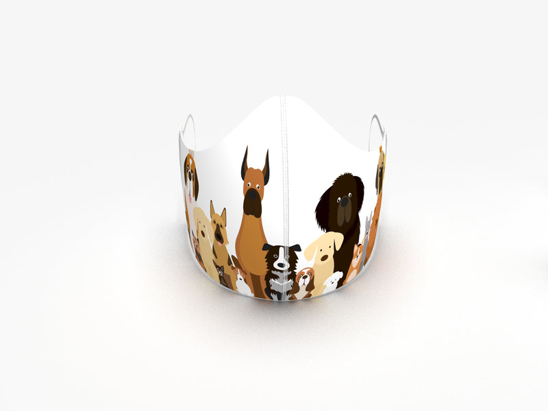DOG PACK FASHION GRAPHIC MASK - BYOM.CA | BRING YOUR OWN MASK