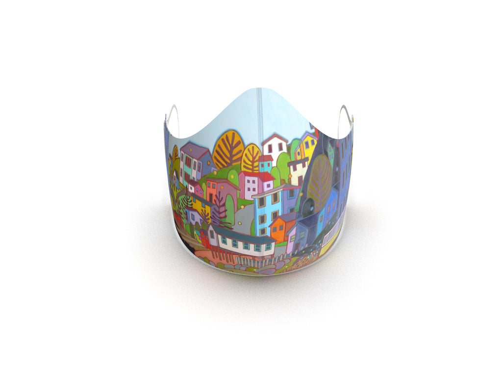 JELLY BEAN HILL ART FASHION GRAPHIC MASK