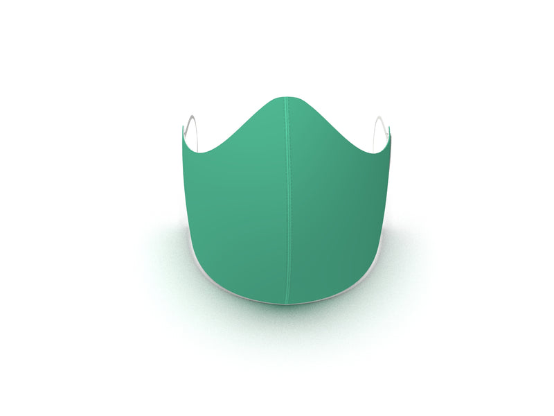MINT GREEN FASHION GRAPHIC KIDS MASK - BYOM.CA | BRING YOUR OWN MASK
