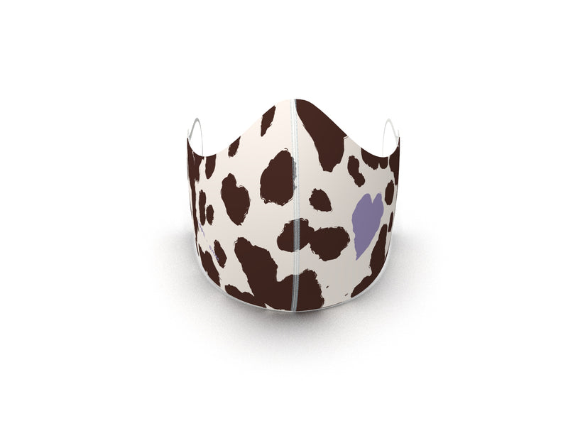 MOO FINE ART FASHION GRAPHIC MASK