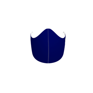 NAVY BLUE FASHION GRAPHIC KIDS MASK