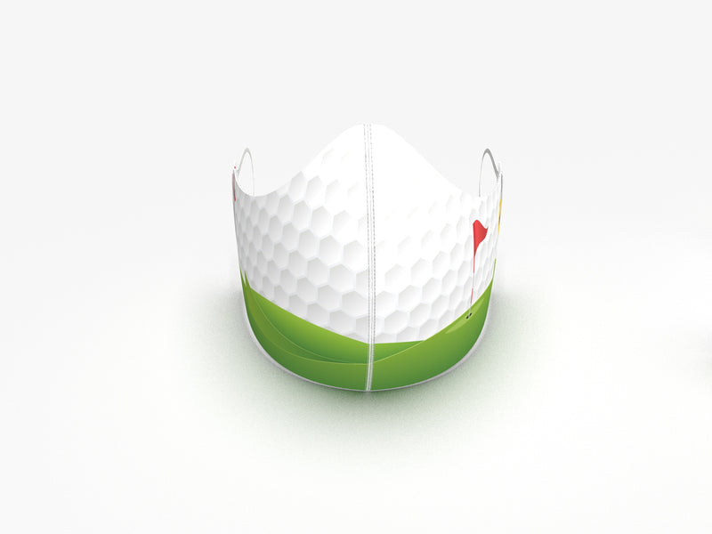 ULTRALIGHT WEIGHT OUR MULLIGAN FASHION GRAPHIC MASK - GOLF LOVER - BYOM.CA | BRING YOUR OWN MASK