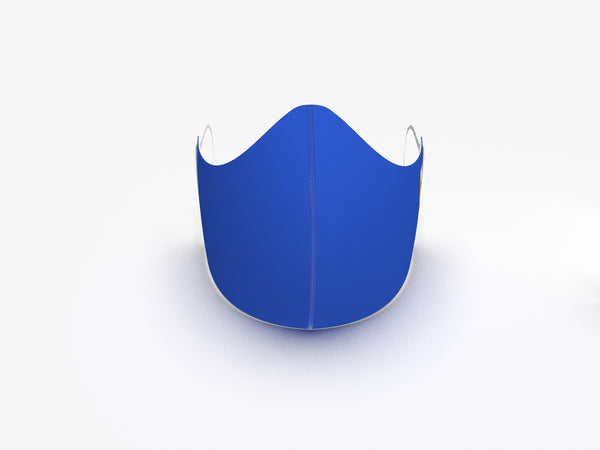 ROYAL BLUE FASHION GRAPHIC MASK - BYOM.CA | BRING YOUR OWN MASK