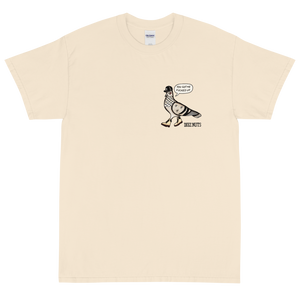 NYC PIGEON Short Sleeve T-Shirt (in multiple colours)