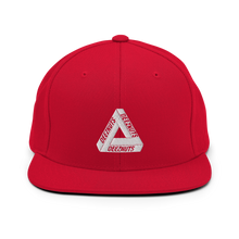 Load image into Gallery viewer, DEEZ NUTS TRIANGLE Snapback Hat (in 6 colours)