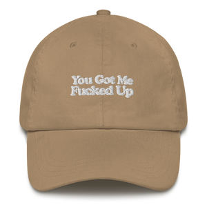 YGMFU EMBROIDERED Dad hat (In 6 colours)