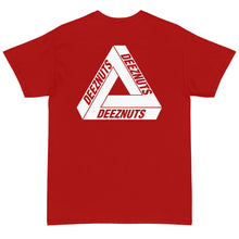 Load image into Gallery viewer, DEEZ NUTS TRIANGLE T-Shirt (available in 8 colours)