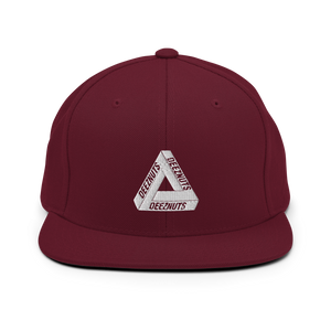 DEEZ NUTS TRIANGLE Snapback Hat (in 6 colours)