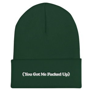 YGMFU EMBROIDERED Cuffed Beanie (In 6 colours)
