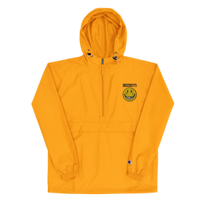 SMILEY Embroidered Champion Packable Jacket (In 4 colours)