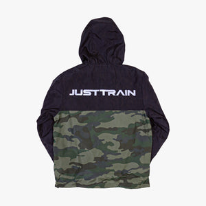Shield Windbreaker Black/Camo