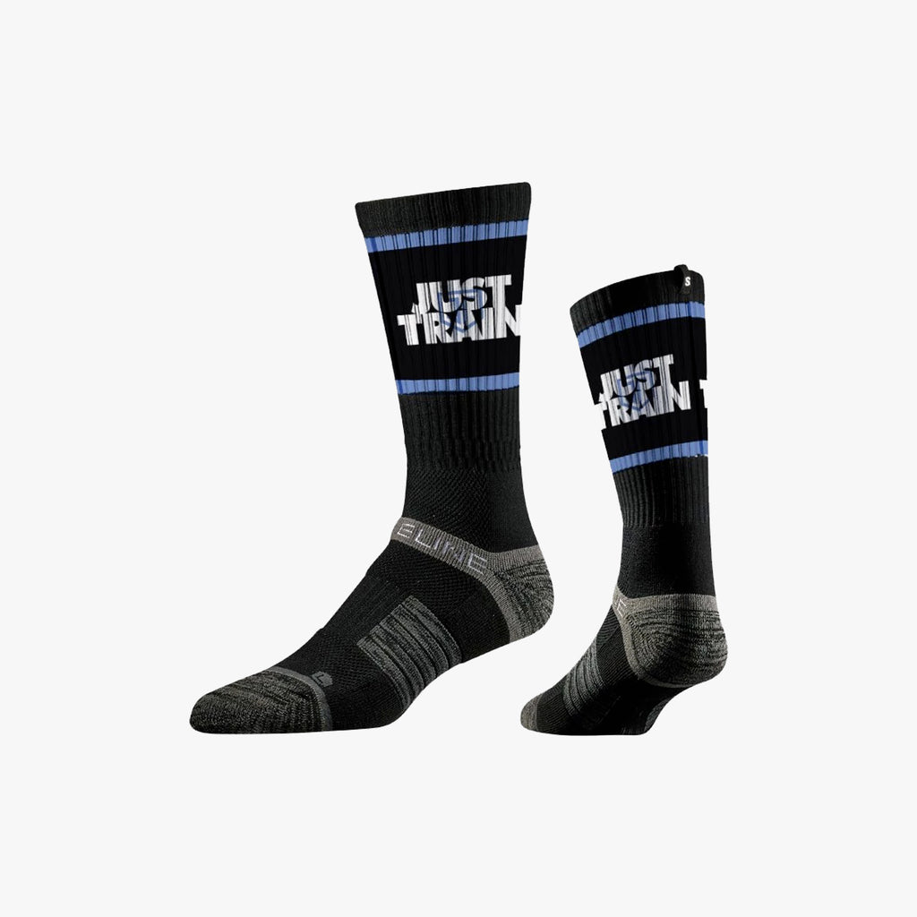 Just Train Socks Black