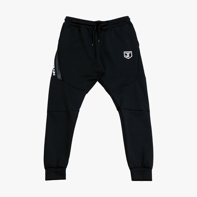 JT Stamp Black Sweatpants
