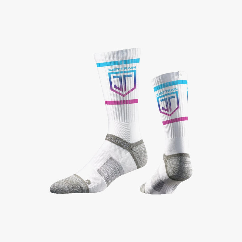 Shield Socks White