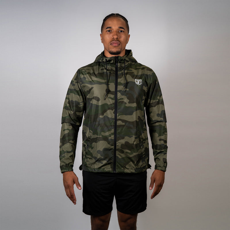 Shield Windbreaker Camo