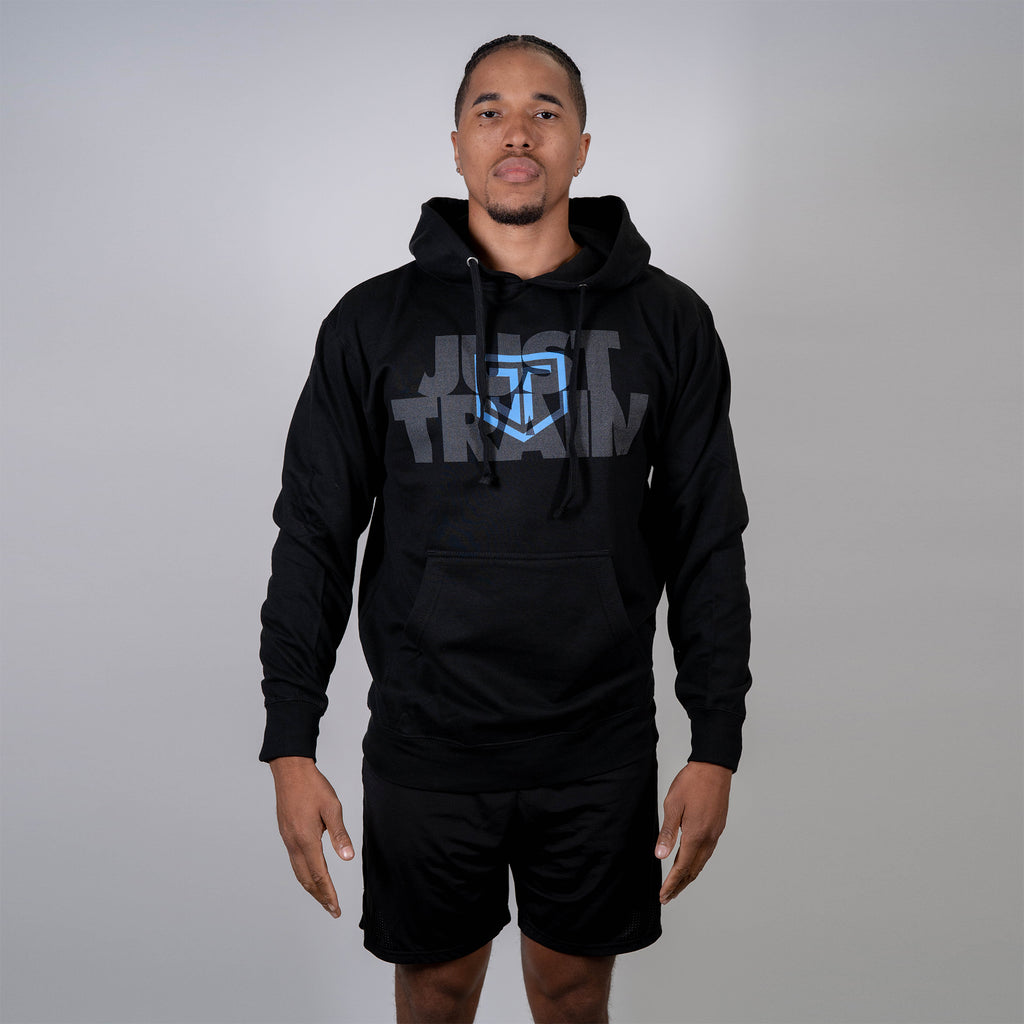 Just Train Hoodie Black