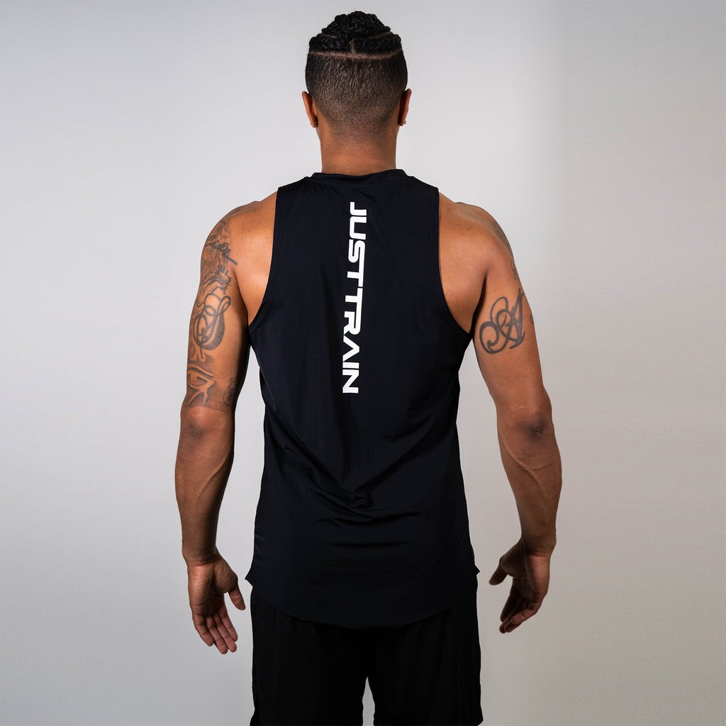 JT Stamp Black Men's Tank