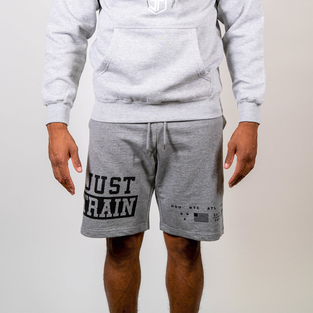 JT Flag Grey Shorts