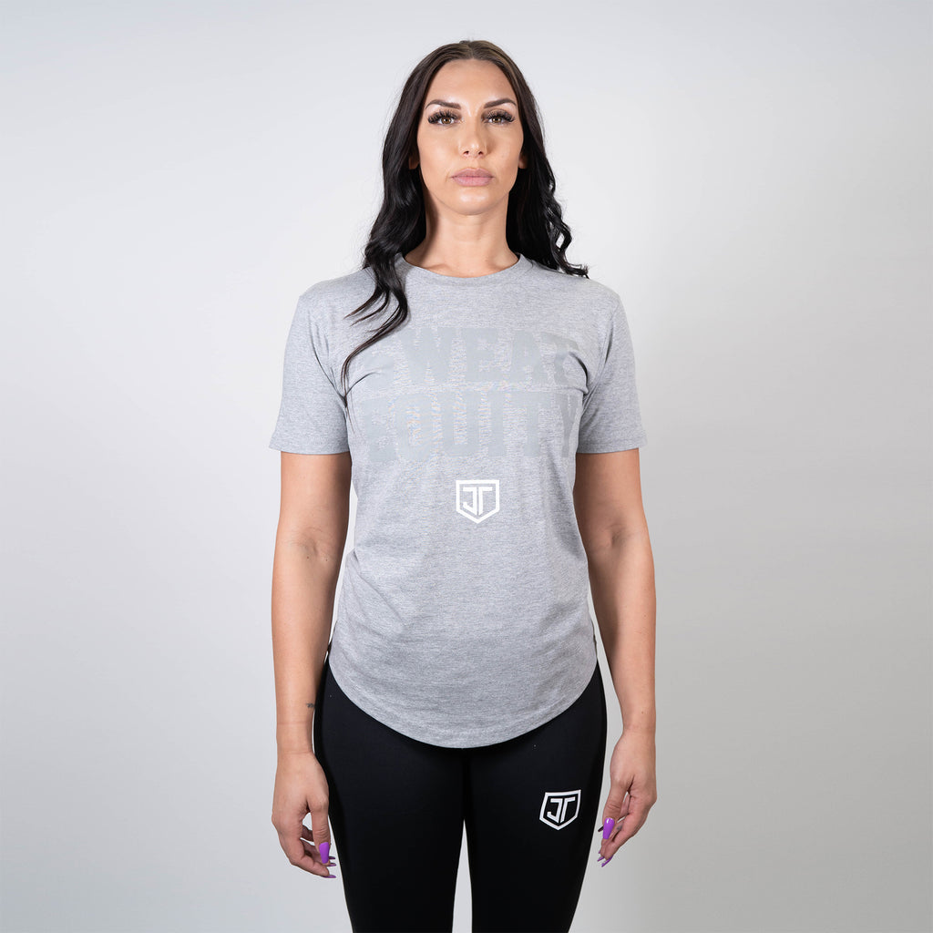 JT Equity Grey Scoop Tee