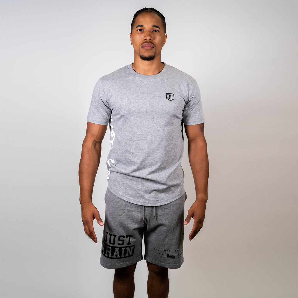 Essential Grey Scoop Tee