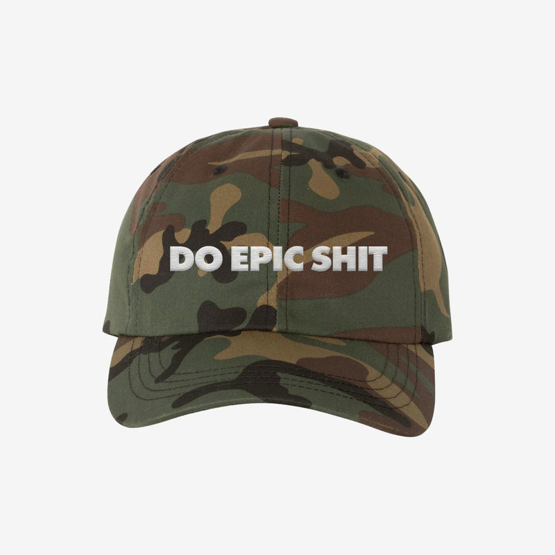 Do Epic Shit - Dad Hat Camo