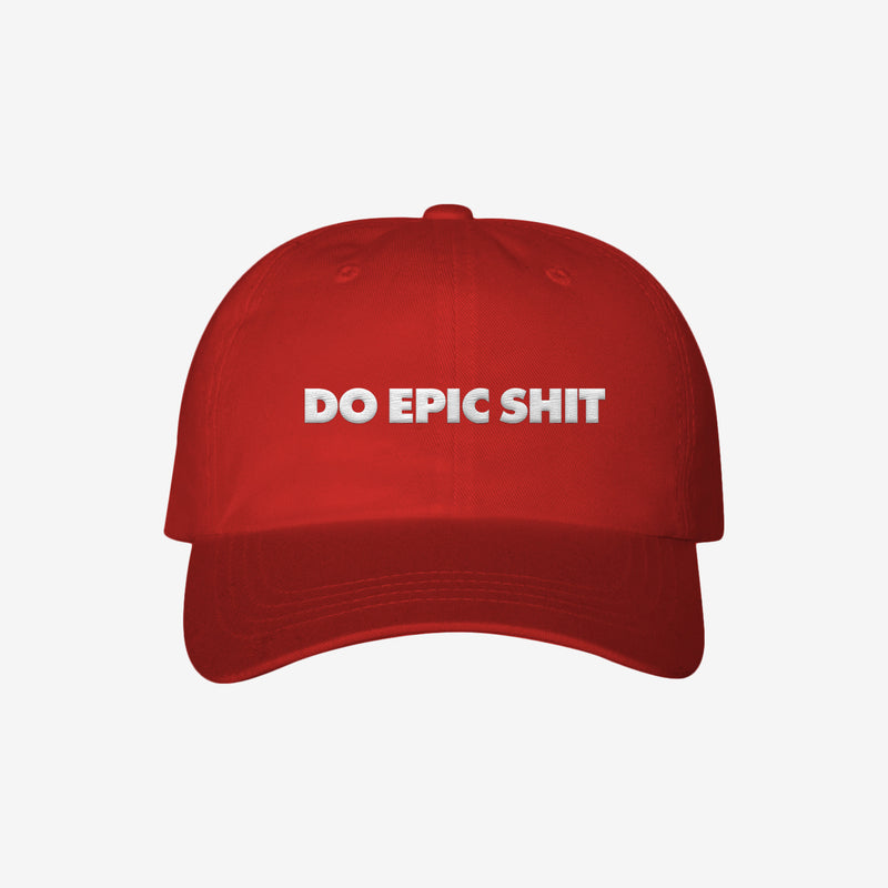 Do Epic Shit - Dad Hat Red