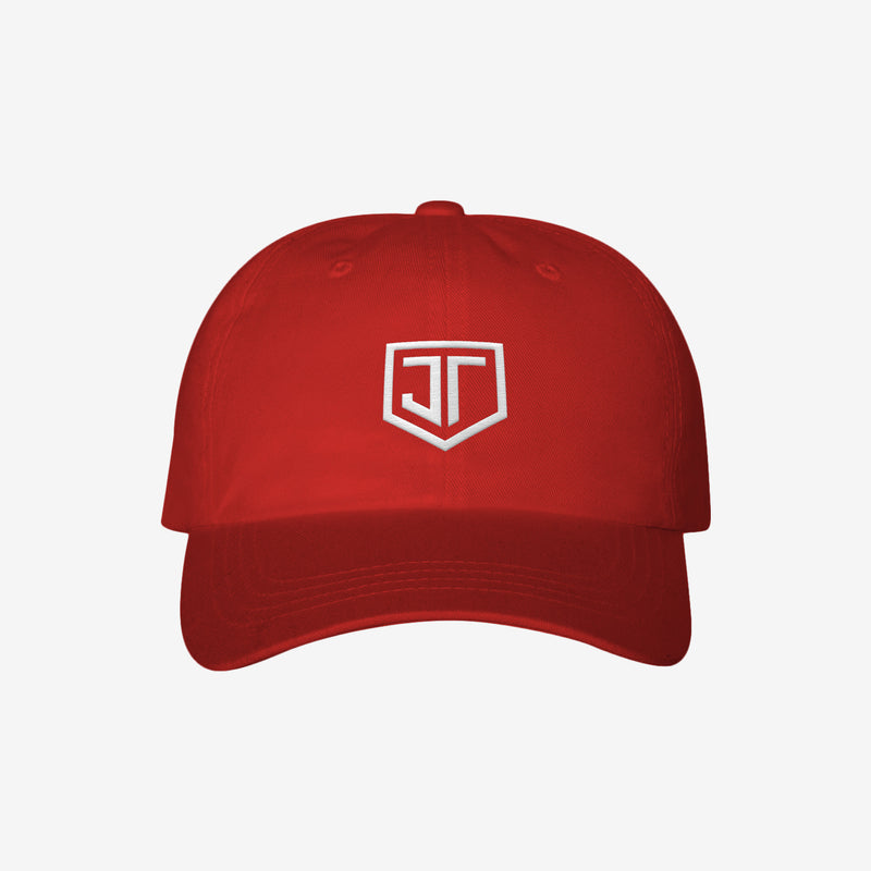 Shield - Dad Hat Red