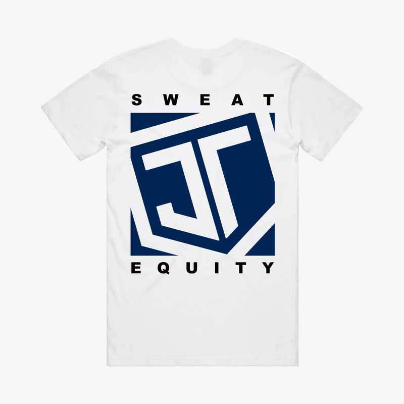 Sweat Equity Tee White