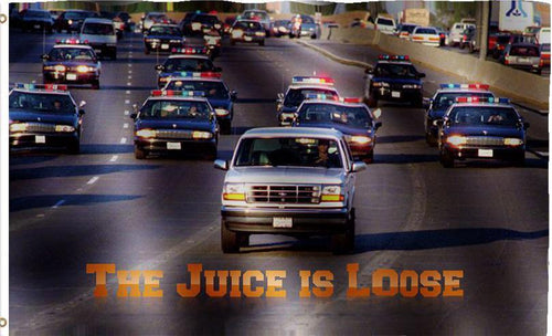 The Juice Is Loose Flag