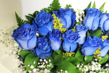 Load image into Gallery viewer, Norma's Blue Rose Bouquet