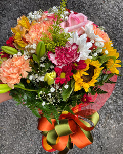 Sweet and Warm Bouquet