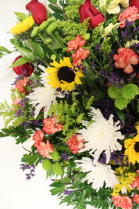 Norma's Cheerful Funeral Basket