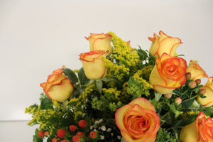 Norma's High Magic Rose Vase Arrangement