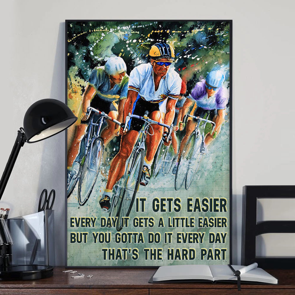 Cycling Tour De France Poster