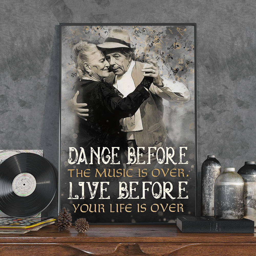 Tango Before Your Life Is Over Poster