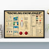 Bowling Knowledge Poster