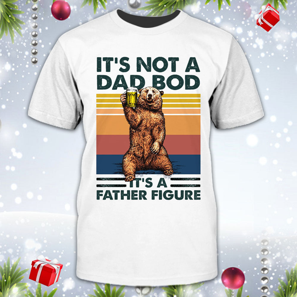 Family Dad Bod Father Figure Shirt
