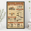 Motocross Knowledge Poster