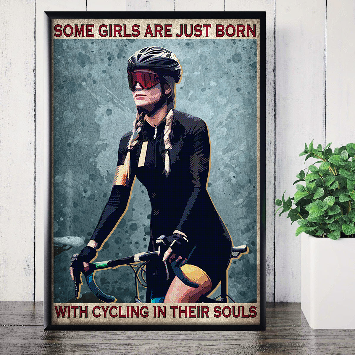 Cycling In Their Souls Poster
