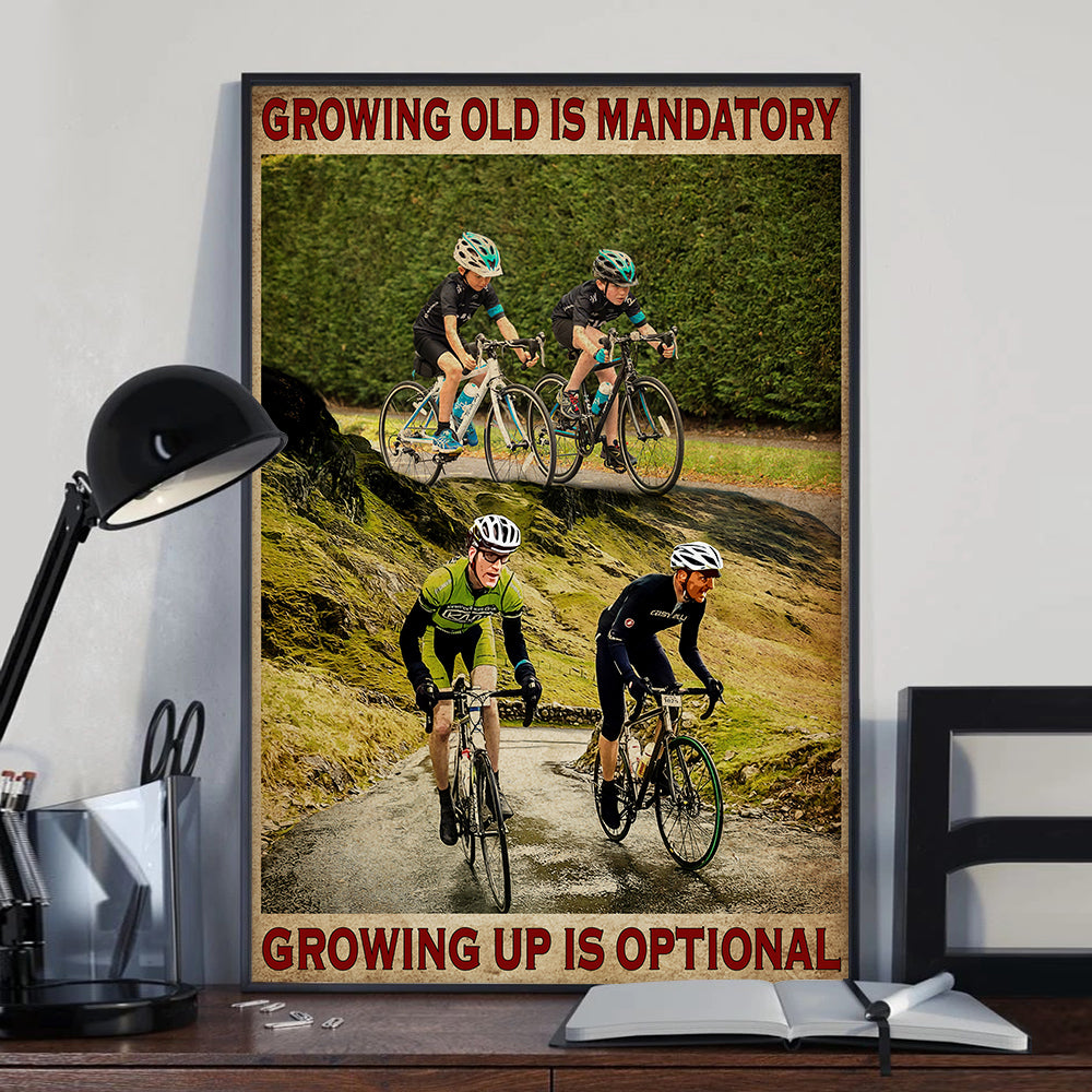 Cycling Growing Up Poster